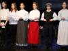 Nastop članov interesne dejavnosti Prekmurščina na državni proslavi v počastitev dneva Rudolfa Maistra